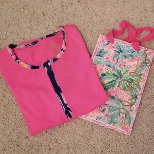 LILLY PULITZER SUN GUARD TOP